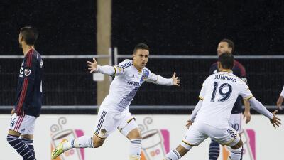 Nacho Maganto convirtió su primer gol frente al Revolution