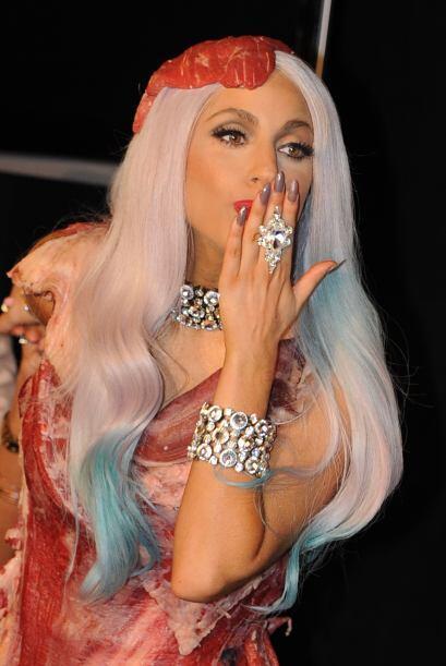 3. Lady Gaga Llevaba años reinando como la más popular, pero ahora cayó...