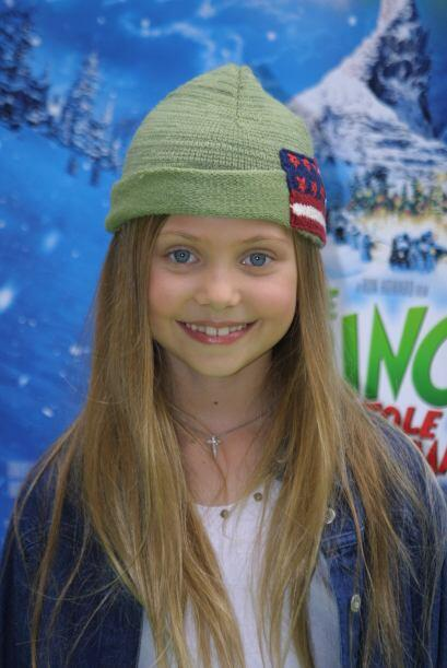 """En noviembre de 2001, Taylor asistió al """"día del Grinch"""" para festejar e..."""