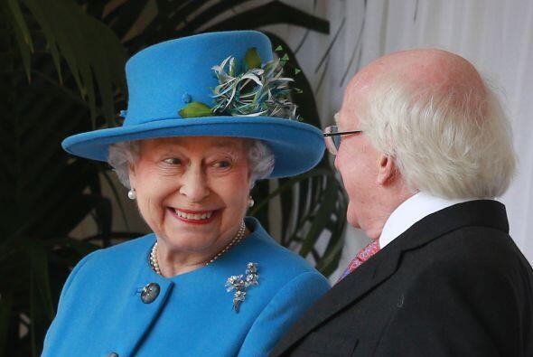 La Reina Isabel II, nació el 21 de abril de 1926 en Londres.