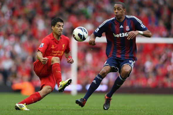 El último juego del día fue el choque entre Liverpool y Stoke City.