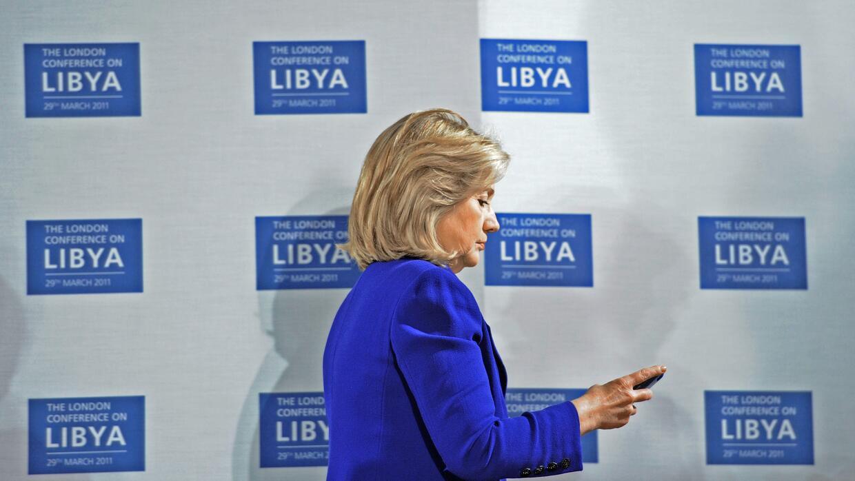 Hillary Clinton en una foto de archivo