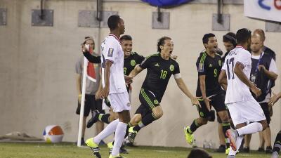 Andrés Guardado dio la victoria a México sobre Costa Rica.