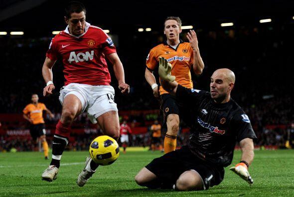 El Manchester United sufrió pero finalmente consiguió la victoria ante e...