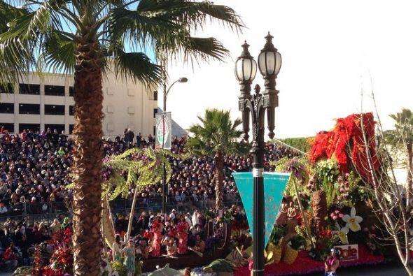 Color y magia en el Desfile de las Rosas 2015