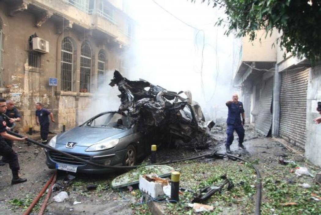 A primeras horas de la tarde, una gran explosión de un coche bomba sacud...