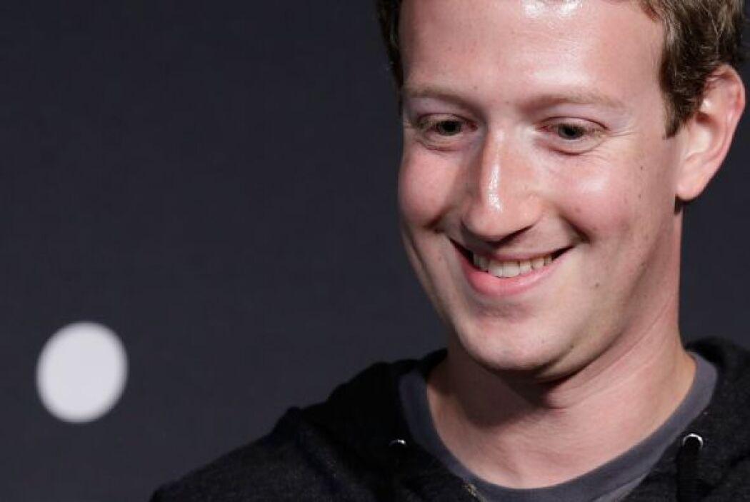 Zuckerberg destaca por su juventud, y es también uno de los más ricos de...