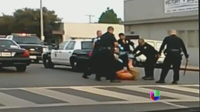 Presunto abuso policial mandó a hispano al hospital