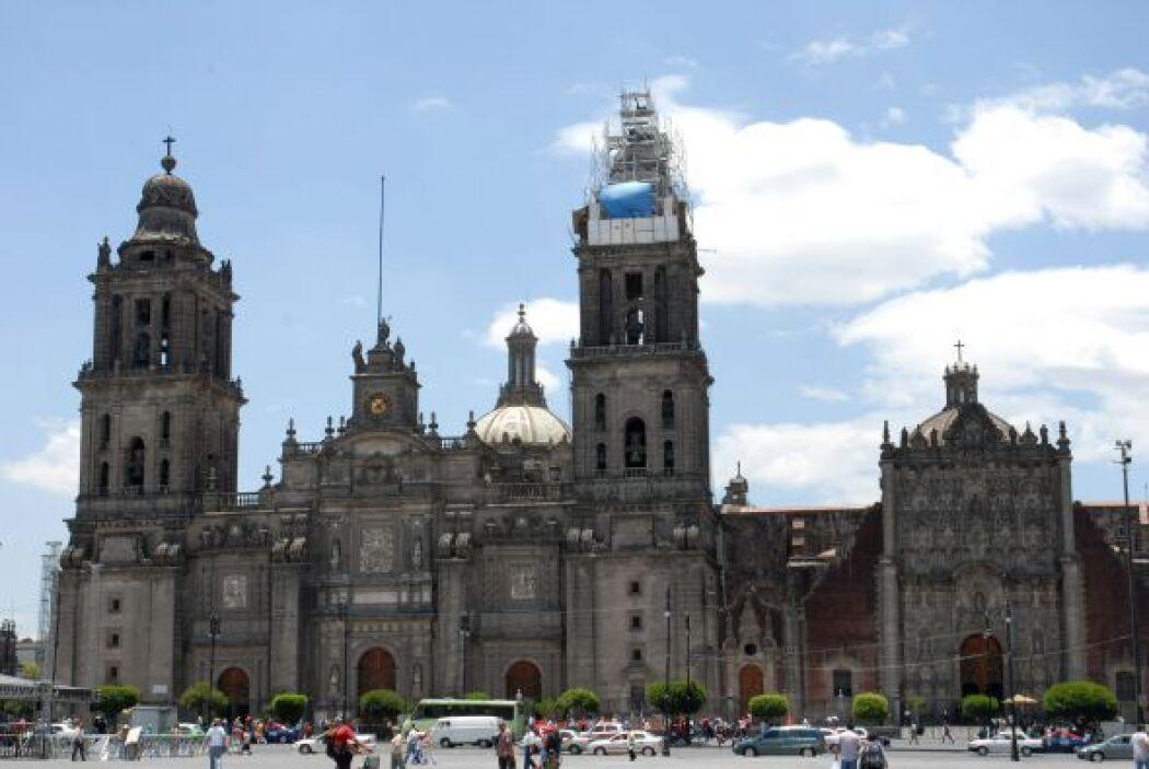 La Catedral Metropolitana de la ciudad de México cumple 200 años desde s...