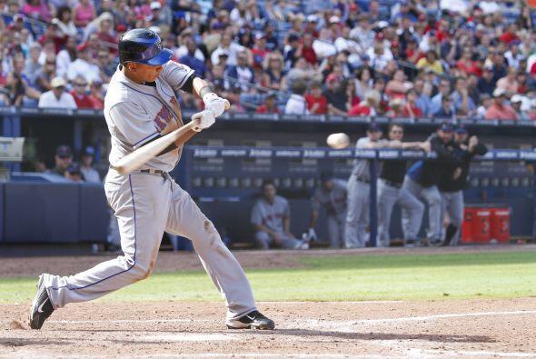 2B. Rubén Tejada. Mets de Nueva York. El panameño bate&oac...