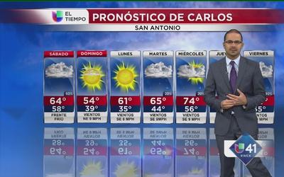 Llega un golpe gélido a San Antonio