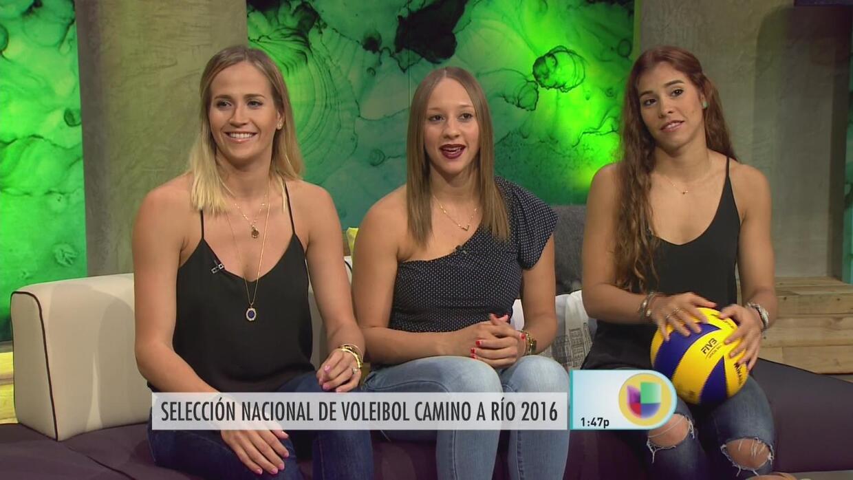 """Listas las chicas del equipo de voleibol de Puerto Rico para """"arrancar c..."""