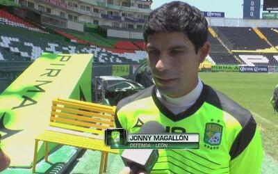 """Jonny Magallón: """"Todos los rivales son difíciles"""""""