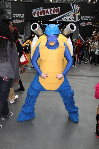 Si decides ser un pokemón en la fiesta de Halloween, puede que seas el m...