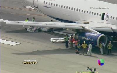 Una nube de humo aterrorizó a los pasajeros de un avión en pleno vuelo