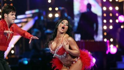La puertorriqueña mostró su sandunga en la quinta gala de Mira Quién Baila.