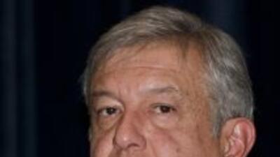 El aspirante de la izquierda a la presidencia de México, Andrés Manuel L...