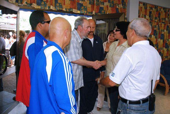 Castro recordó sus experiencias como pescador submarino.