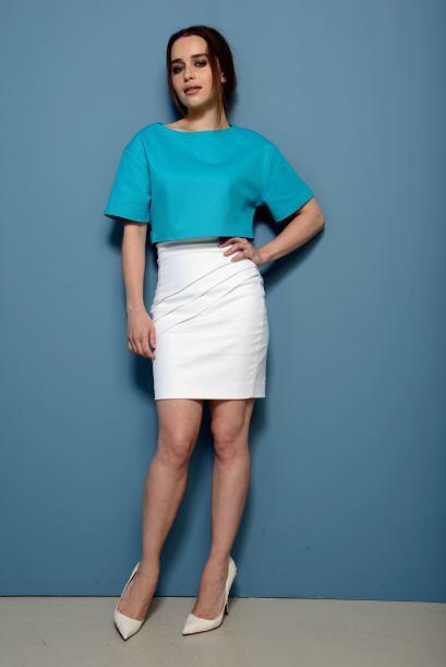 Emilia Clarke está en el escalón siete.
