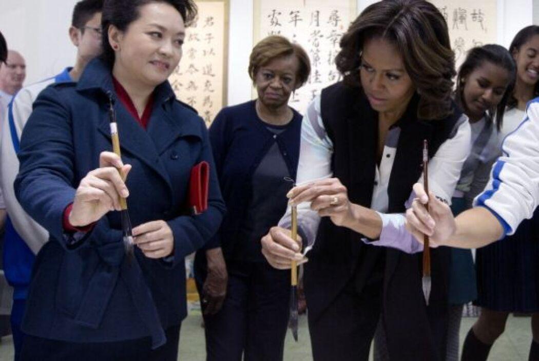 El viaje de las mujeres Obama ha estado lleno de aprendizajes.