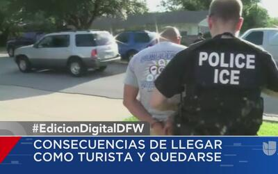 Inmigrantes con visa temporal vencida podrían ser prioridad para ser dep...
