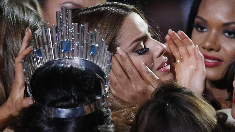 La Miss Universo fugaz.