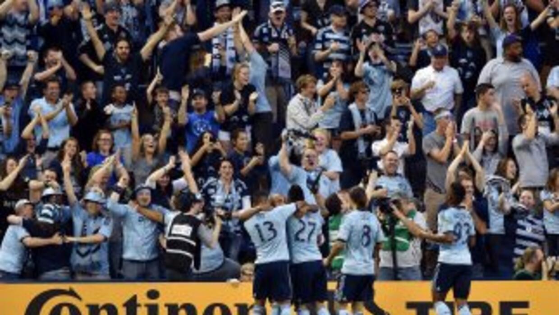 Sporting KC celebra goleada ante FC Dallas