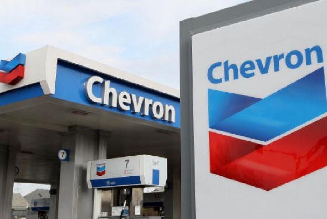 8. CHEVRON. La empresa petrolera, con una nota de 4.1 otorga a sus ingen...