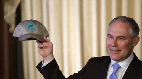 Scott Pruitt, el nuevo director de la Agencia de Protección Ambiental (E...