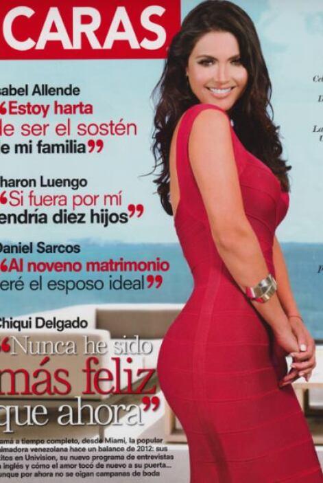 Tras un 2012 lleno de triunfos, 'Chiqui' Delgado compartió con 'Caras' h...