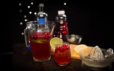 Cóctel de arándano - El Recetario con #TwistLatino
