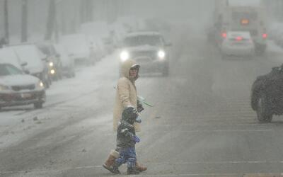 Tormenta invernal afecta varias zonas de Nueva York, Nueva Jersey y Conn...