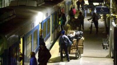 El tren que tuvo el accidente en Argentina no tenía bien los frenos.