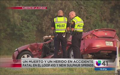 Trágico accidente sobre la 410