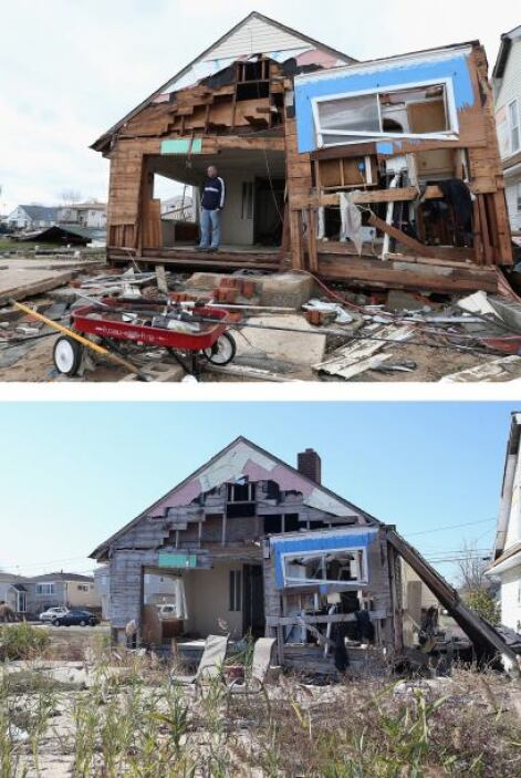 Pero no todas las zonas se han recuperado al cien por ciento. Esta image...