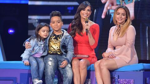 Toda la familia llegó para ver a Almany cumplir uno de sus sueños