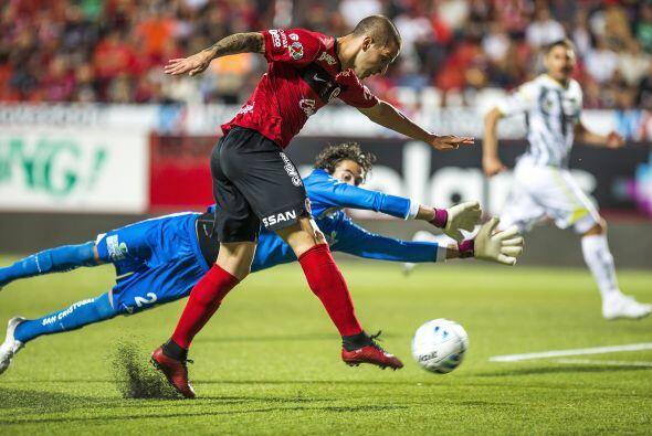 Darío Benedetto volvió a la senda del gol con los Xolos, e...