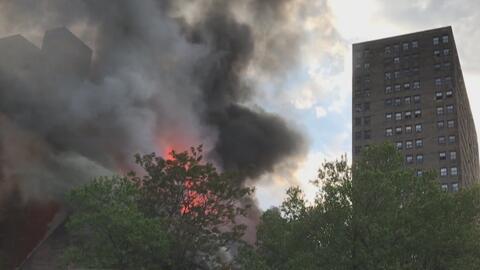 Un incendio destruye una sinagoga abandonada que se construyó en 1850 en...