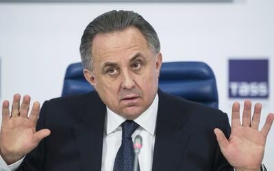 Vitaly Mutko, ex ministro de deportes de Rusia.