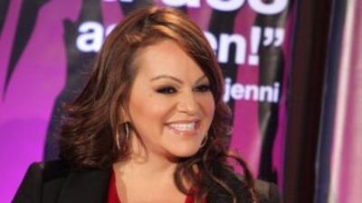 La cantante grupera Jenni Rivera.