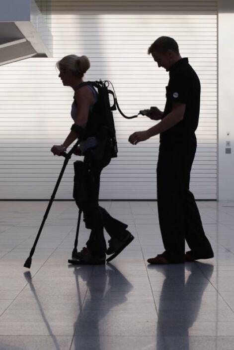 Amanda perdió la movilidad de la cintura a los pies luego de un accident...