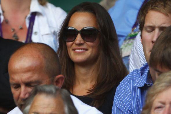 'Pippa' ha disfrutado mucho esta edición de Wimbledon, pues se le ha pod...
