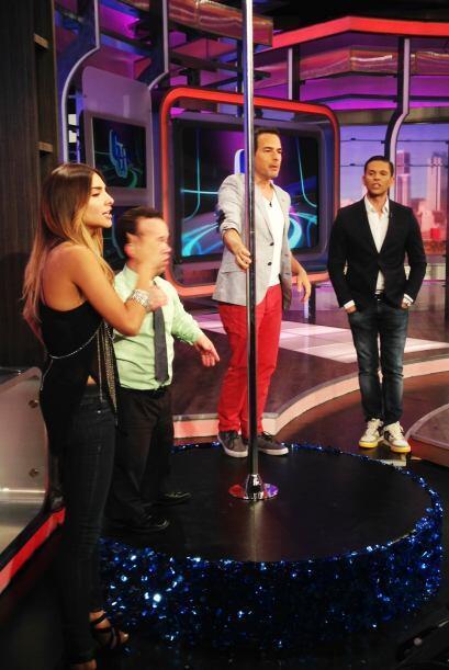 Ale Espinoza aceptó el reto de salir sin maquillaje en televisión, pero...