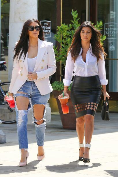 Esta vez Kourt lució más fashion. Mira aquí los vid...