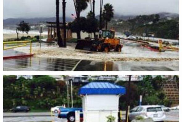 Playas cerradas por alto oleaje y contaminación tambi&eacut...
