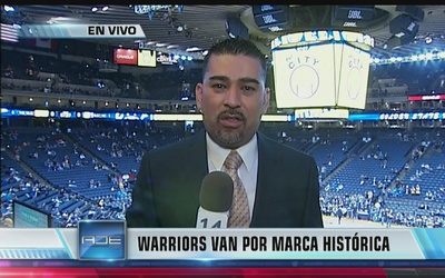 Warriors van por record histórico en la NBA