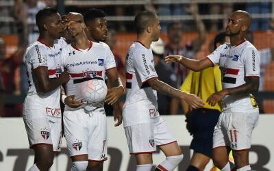 Sao Paulo estará en el Grupo A de la Copa Libertadores.