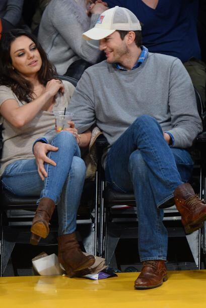 La pareja luce más enamorada que nunca.