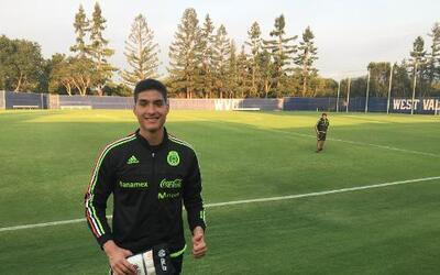 Christian Herrera, excanterano de Real Salt Lake, entrena con el Tri Sub-20