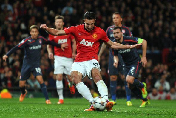 Se jugaba el minuto 25 y el árbitro marcó penalti en favor de los 'Red D...